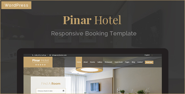 Pinar Hotel - Responsive WordPress Booking Theme