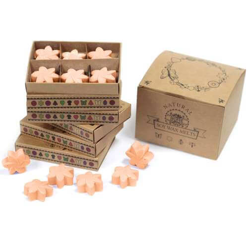 soy wax melts in gift box - tuberose