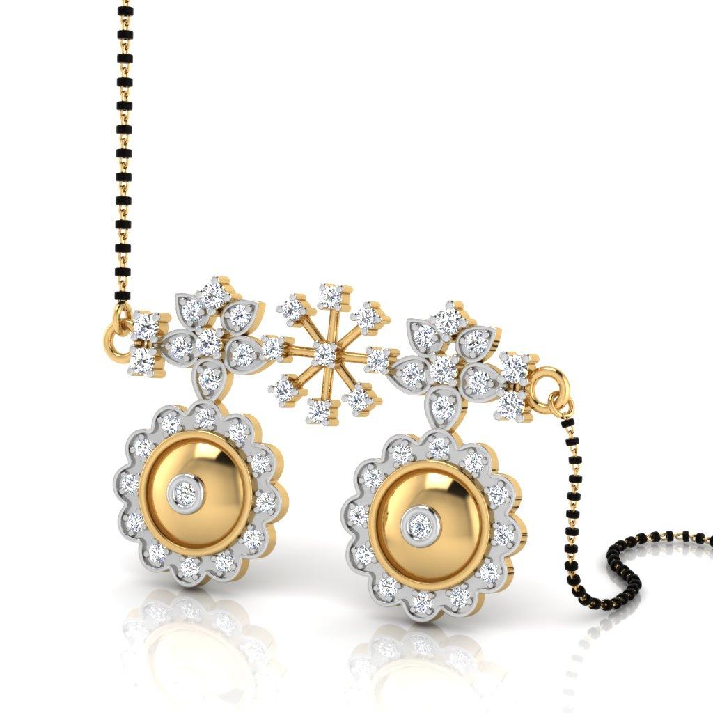 The Kevine Vati Diamond Mangalsutra