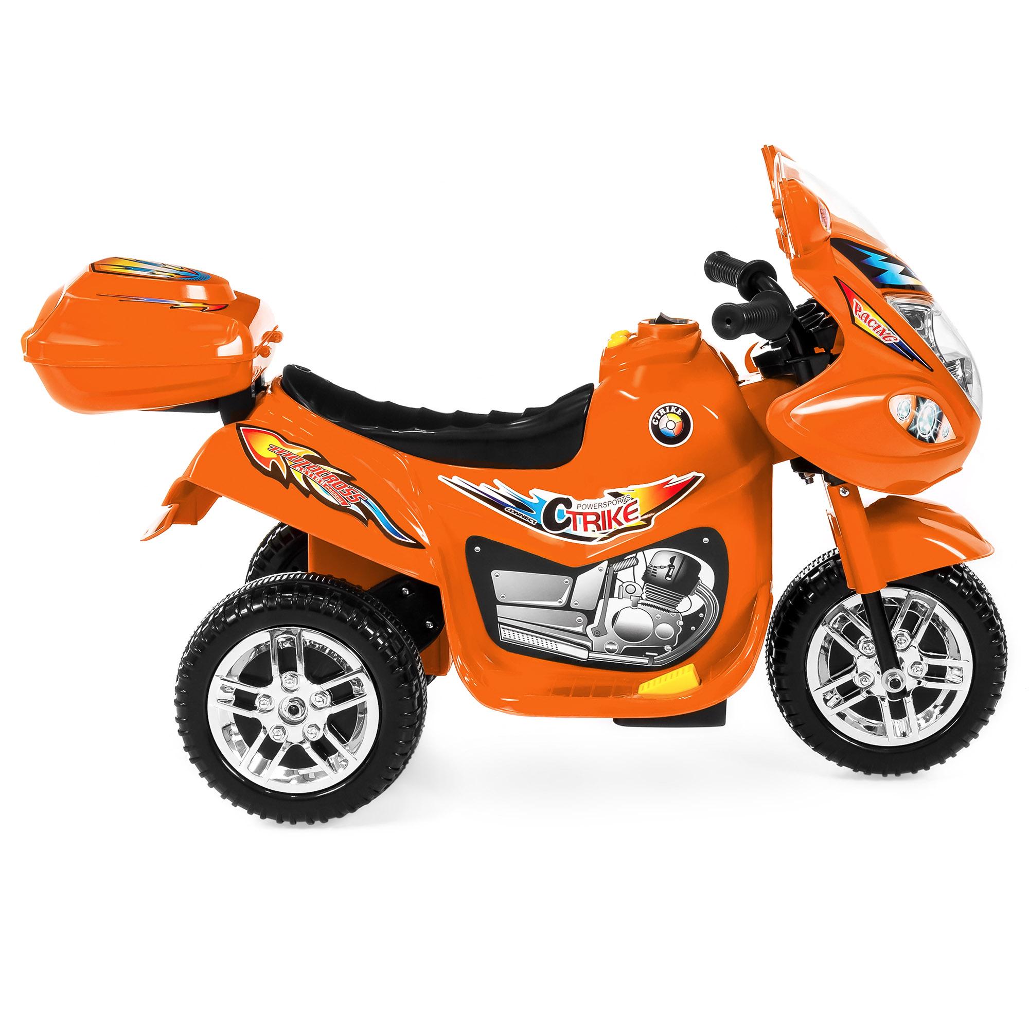 BCP-6V-Kids-3-Wheel-Motorcycle-Ride-On-Toy-w-LED-Lights-Music-Storage thumbnail 21