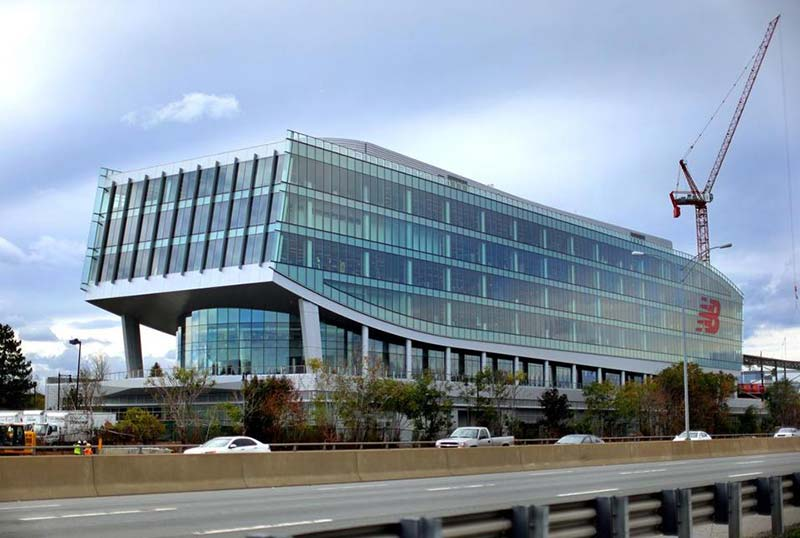 New Balance's new Brighton HQ in Boston - an ode to old urbanism