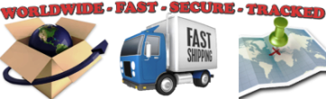 Worldwide Fast Secure Tracked Shipping