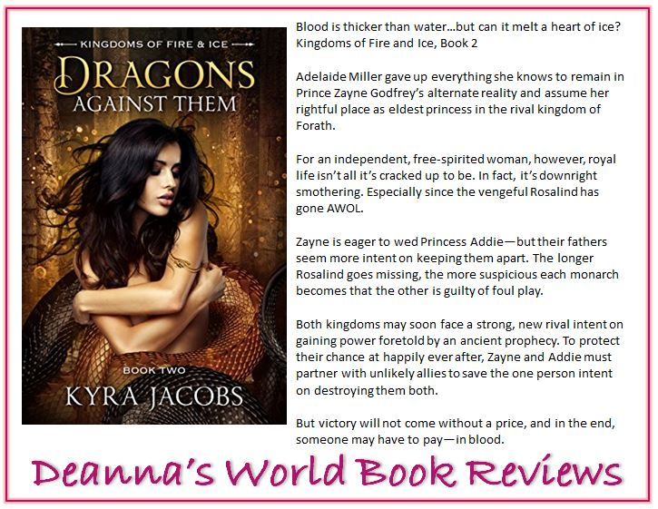 Dragons Against Them by Kyra Jacobs blurb