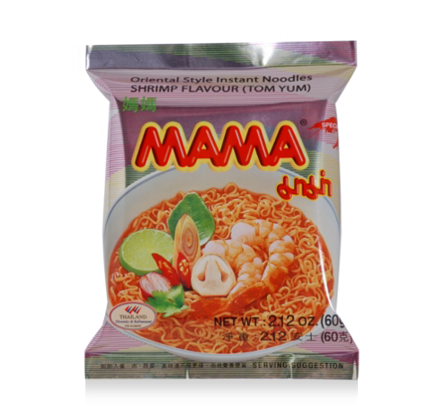 MAMA instant noodles - Tom Yum flavour