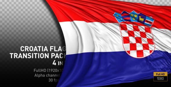 Croatia Flag Pack - 1