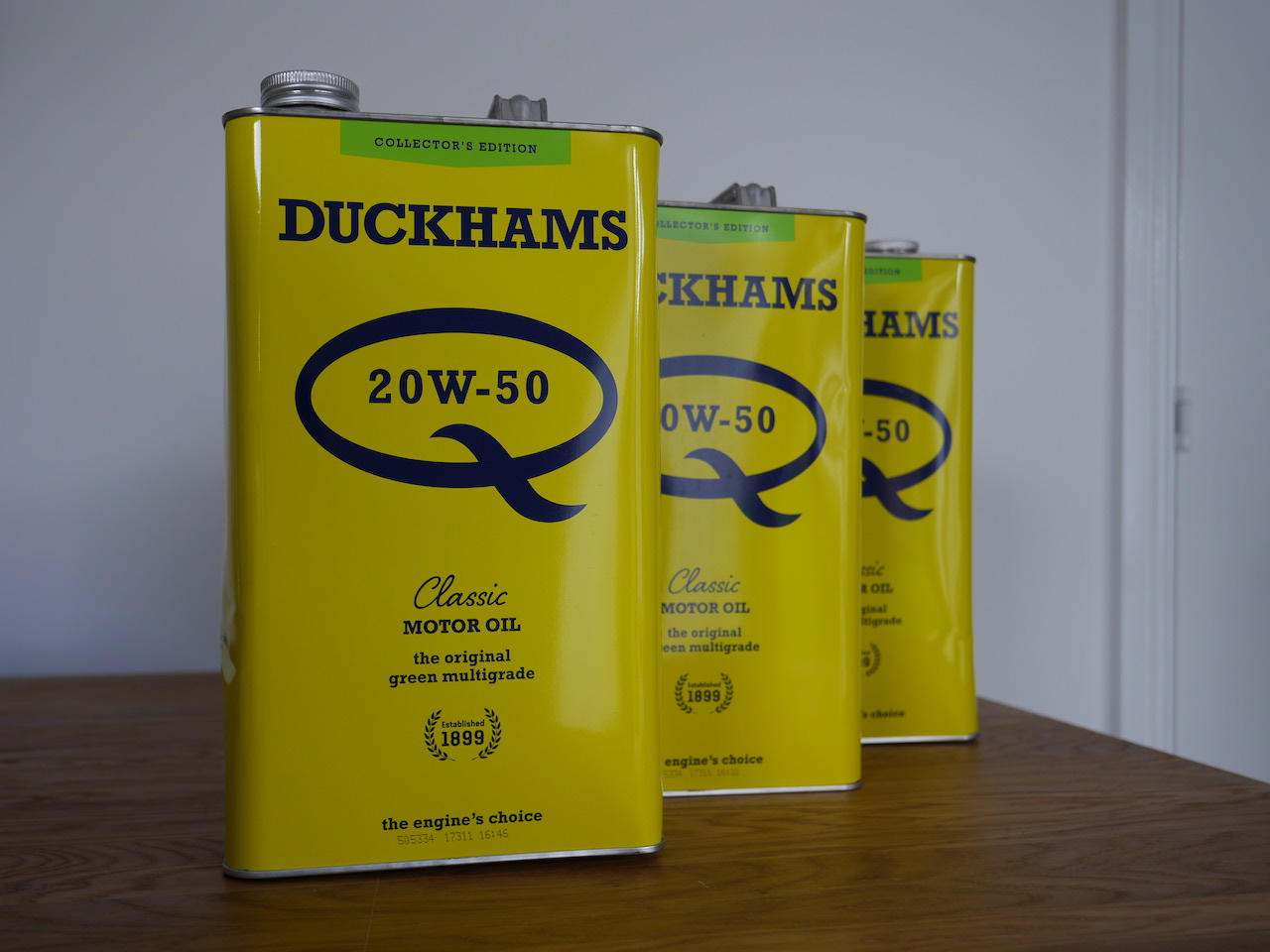 Take to the Road News Historic Oil Brand Duckhams relaunched