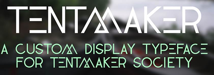 tentmaker free font