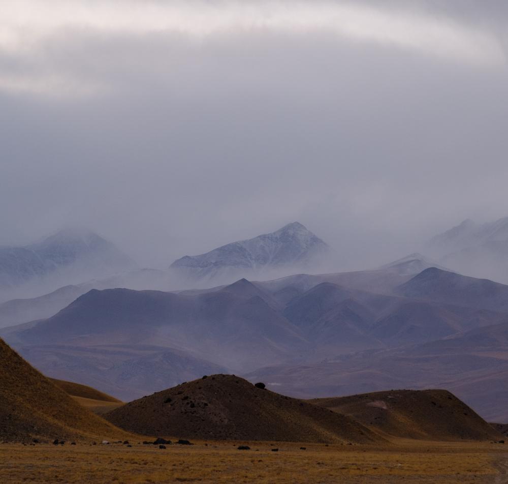 landschap in de Pamir