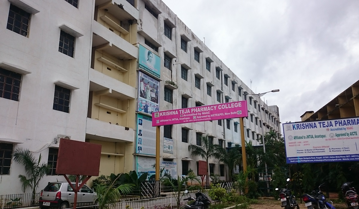 Krishna Teja Pharmacy College, Tirupati