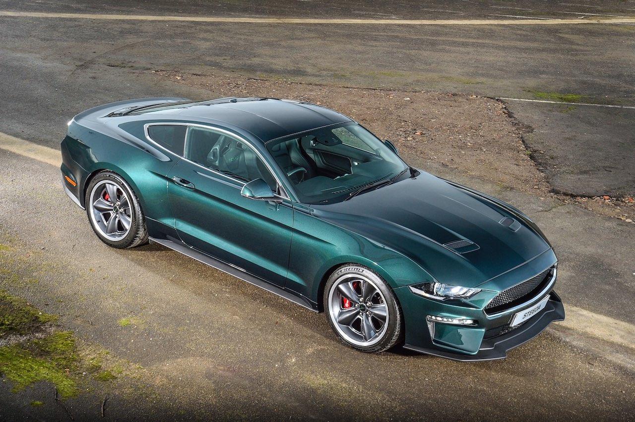 First UK Steeda Steve McQueen Limited Edition Bullitt Mustang