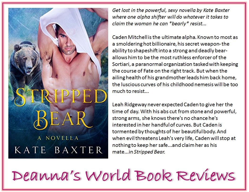 Stripped Bear by Kate Baxter blurb