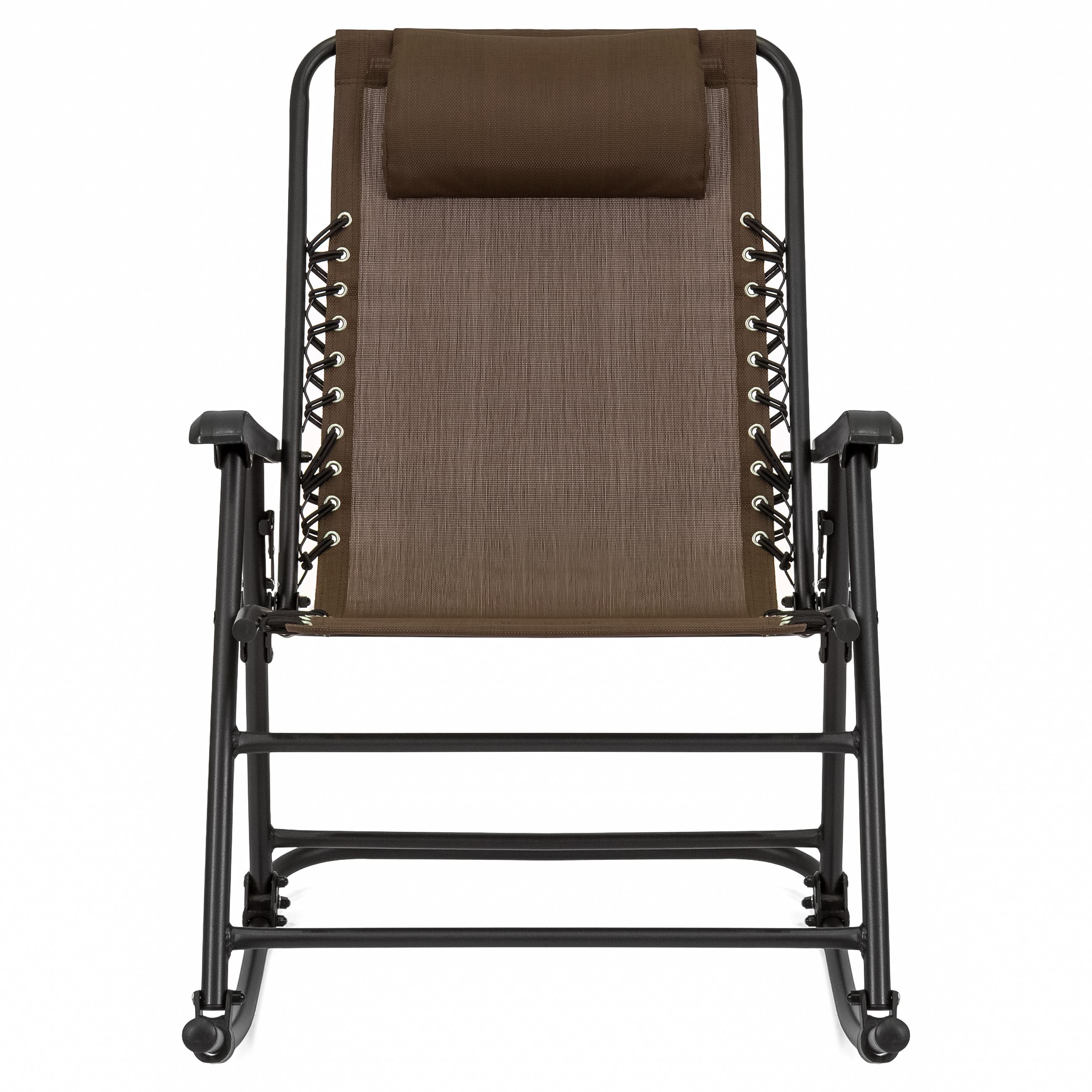 BCP-Foldable-Zero-Gravity-Patio-Rocking-Lounge-Chair thumbnail 32
