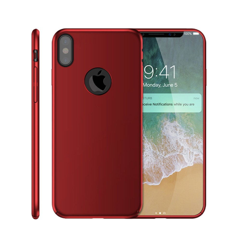Thin-Slim-Hard-Case-Tempered-Glass-Cover-For-Apple-iPhone-X-XS-XR-Max-10-8-7-6s miniatuur 34