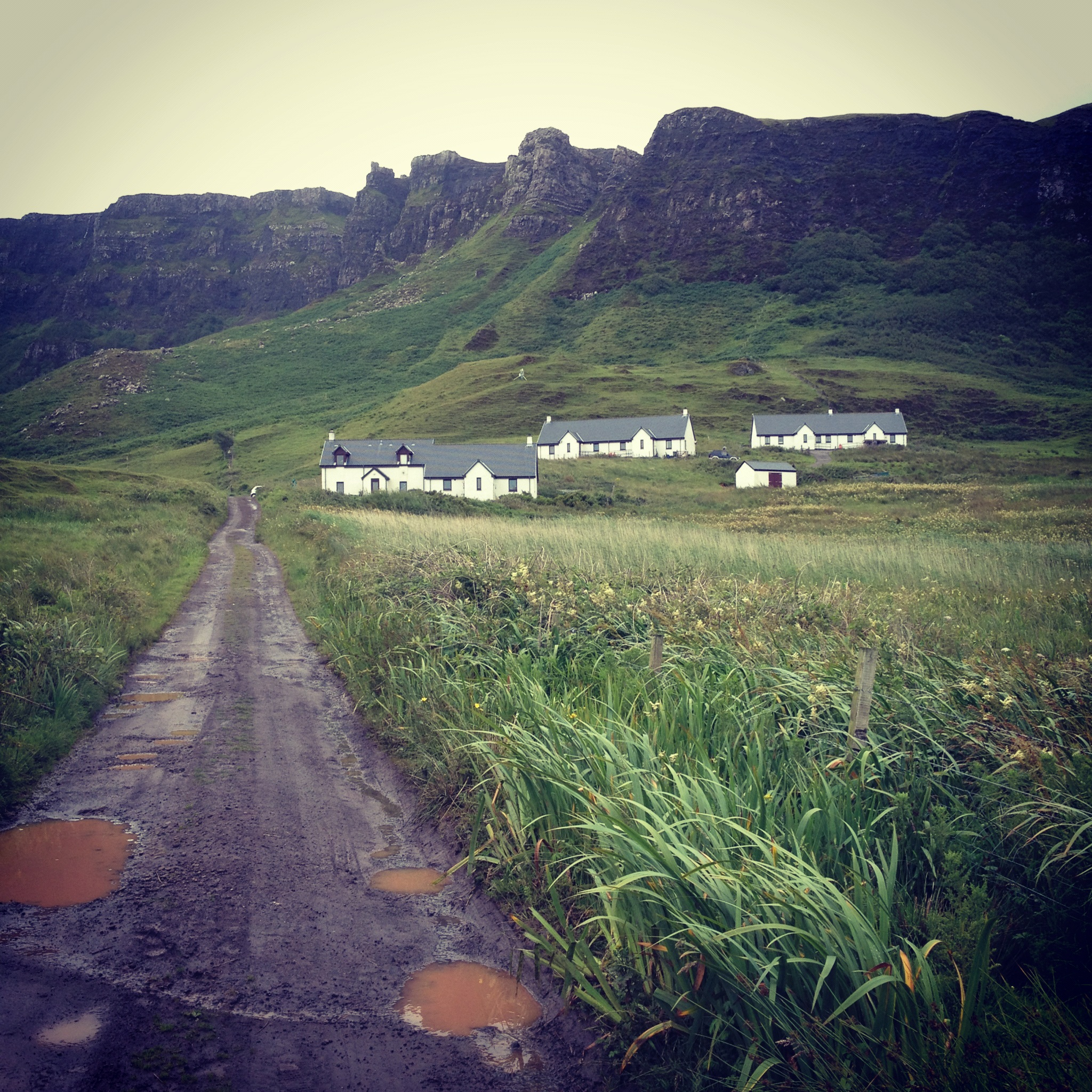 Houses on Eigg