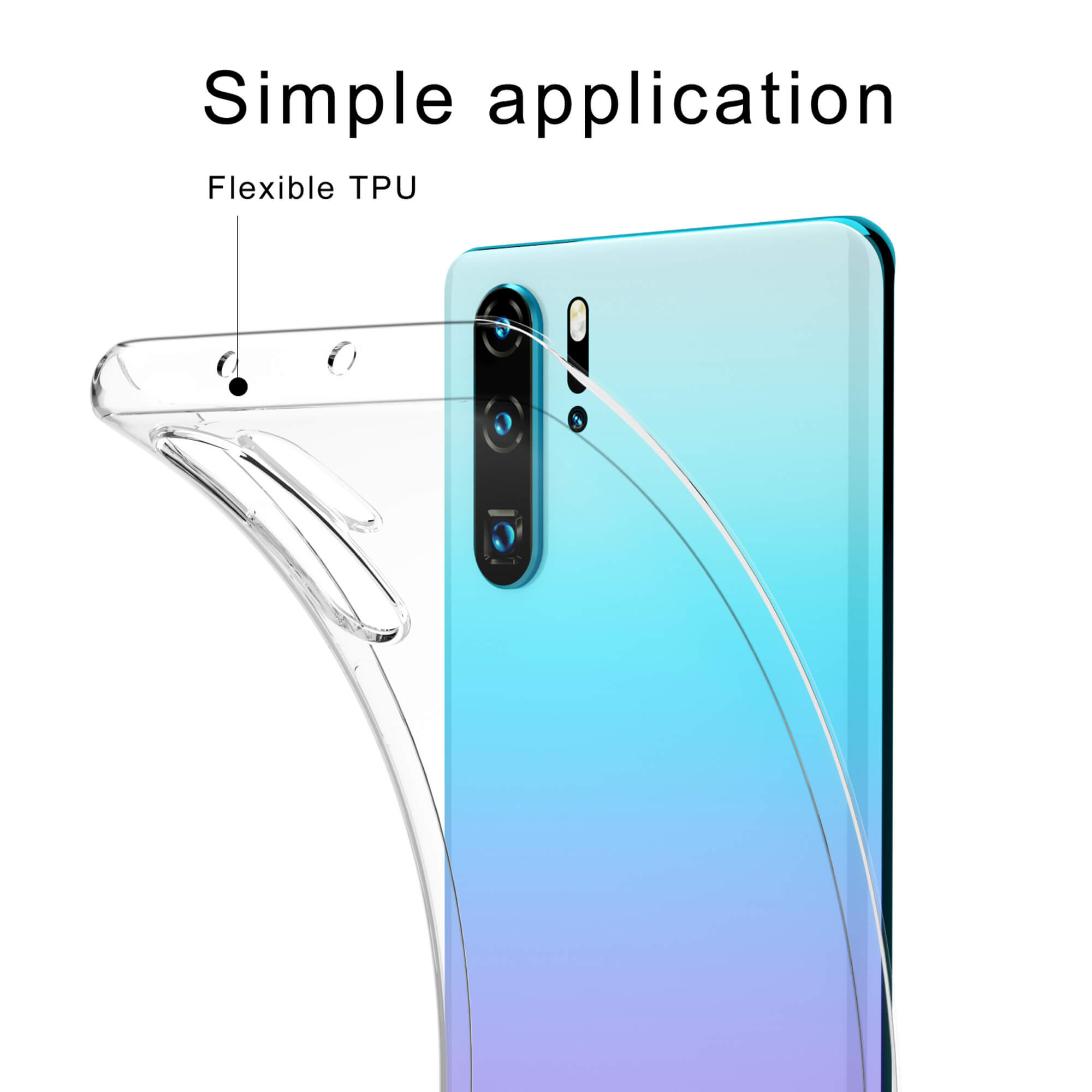 Shockproof-Silicone-Protective-Clear-Gel-Cover-Case-For-Huawei-P20-Pro-P-Smart thumbnail 92