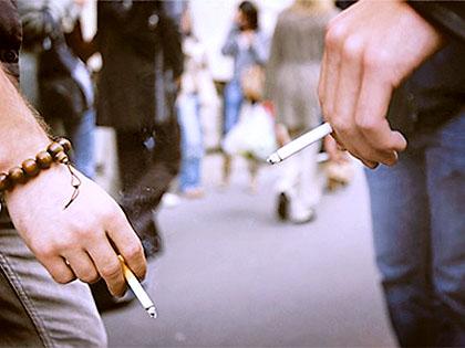 Zakaz palenia w miejscu publicznych - ulica
