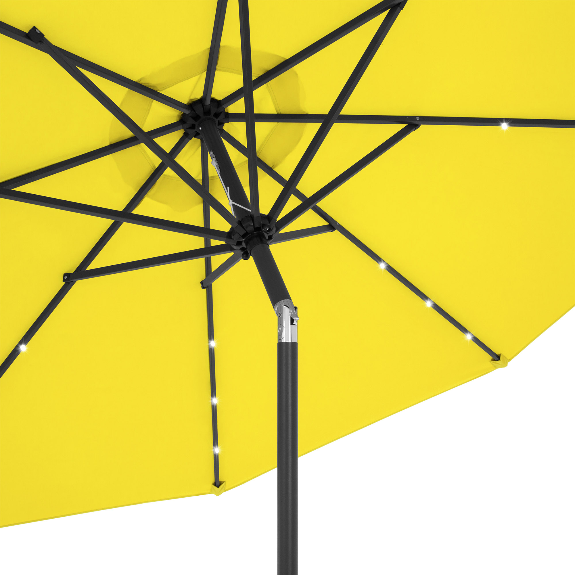 BCP-10ft-Solar-LED-Lighted-Patio-Umbrella-w-Tilt-Adjustment-Fade-Resistance thumbnail 82