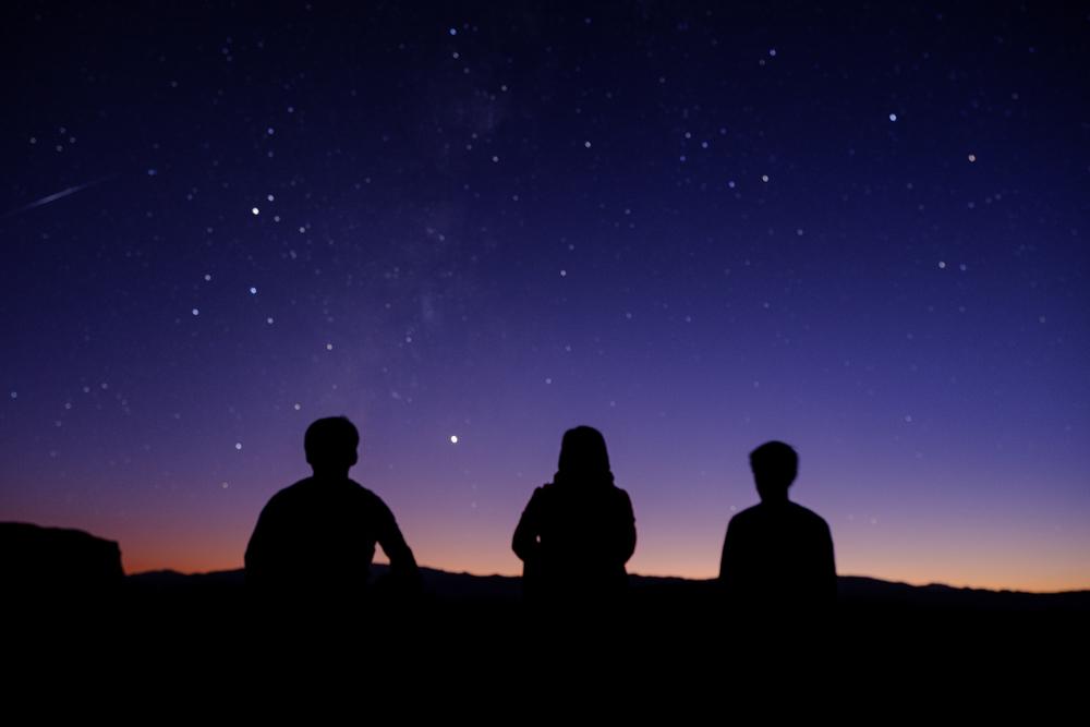 Iraanse sterrenhemel in de Kalouts