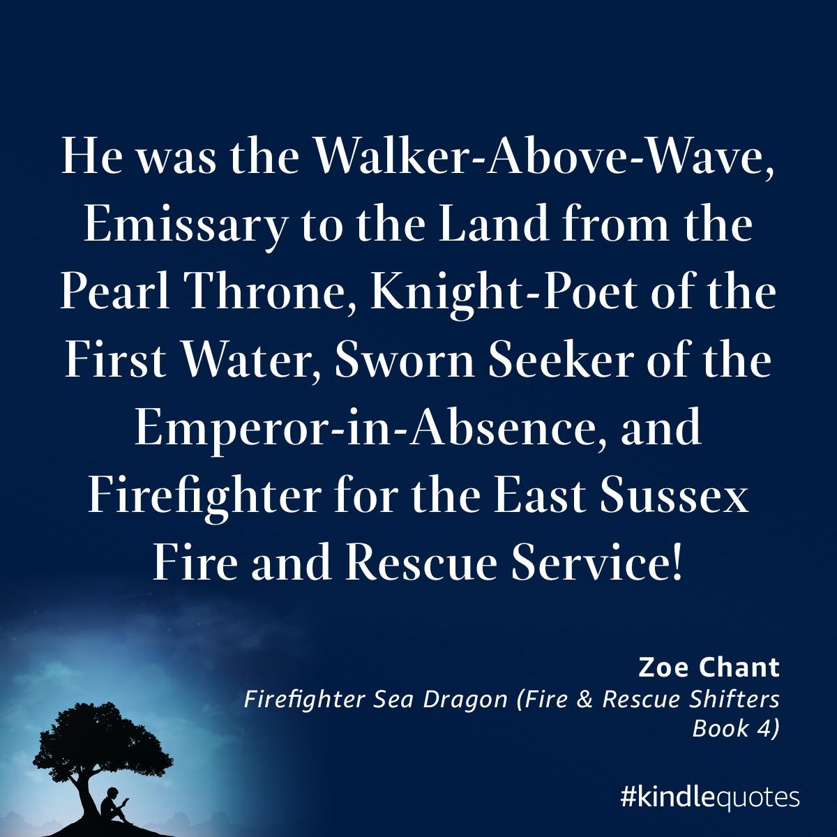 Book quote Zoe Chant