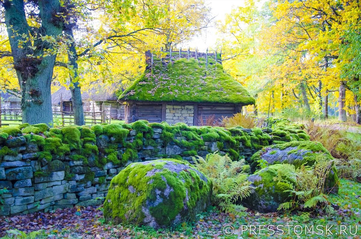 Эстонский хутор в музее Рокка-аль-Маре