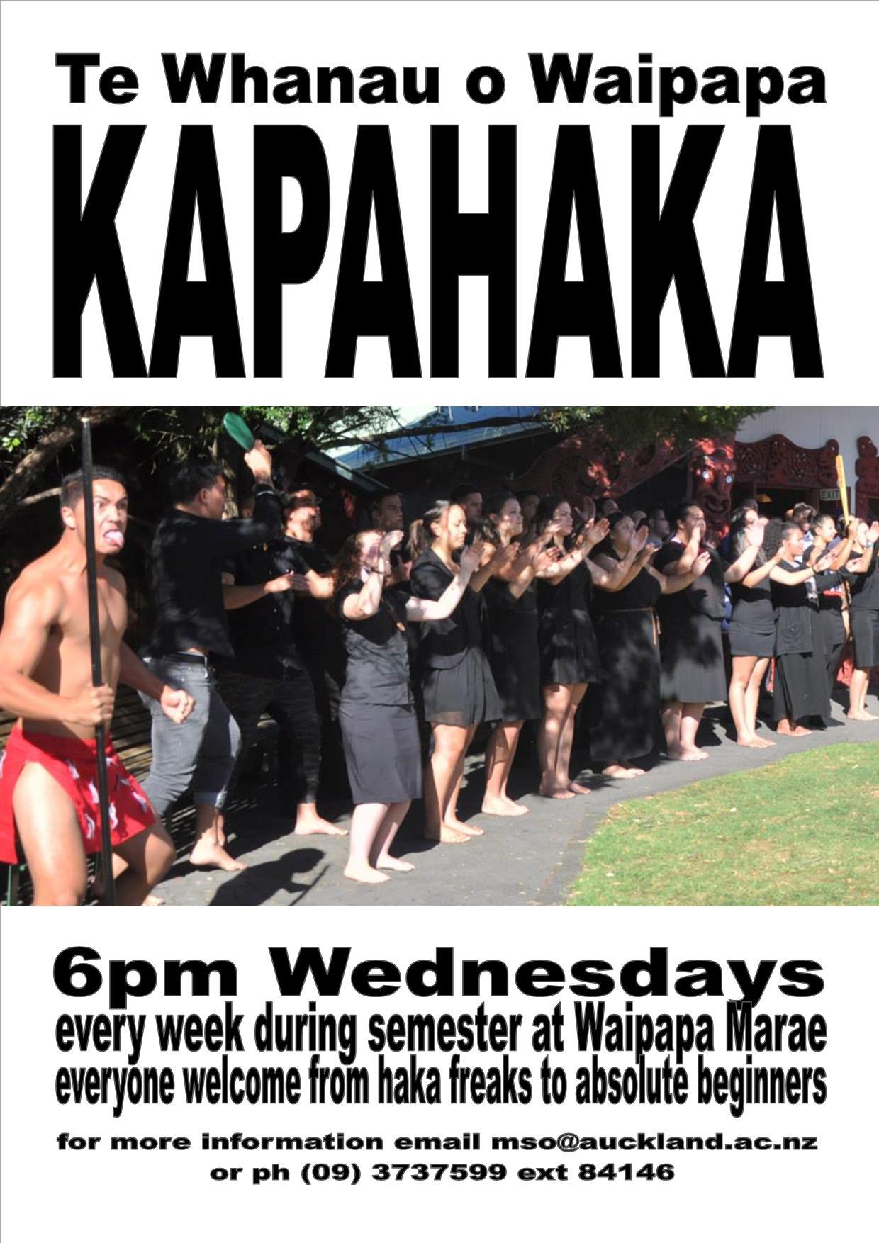 Kapahaka At Waipapa.