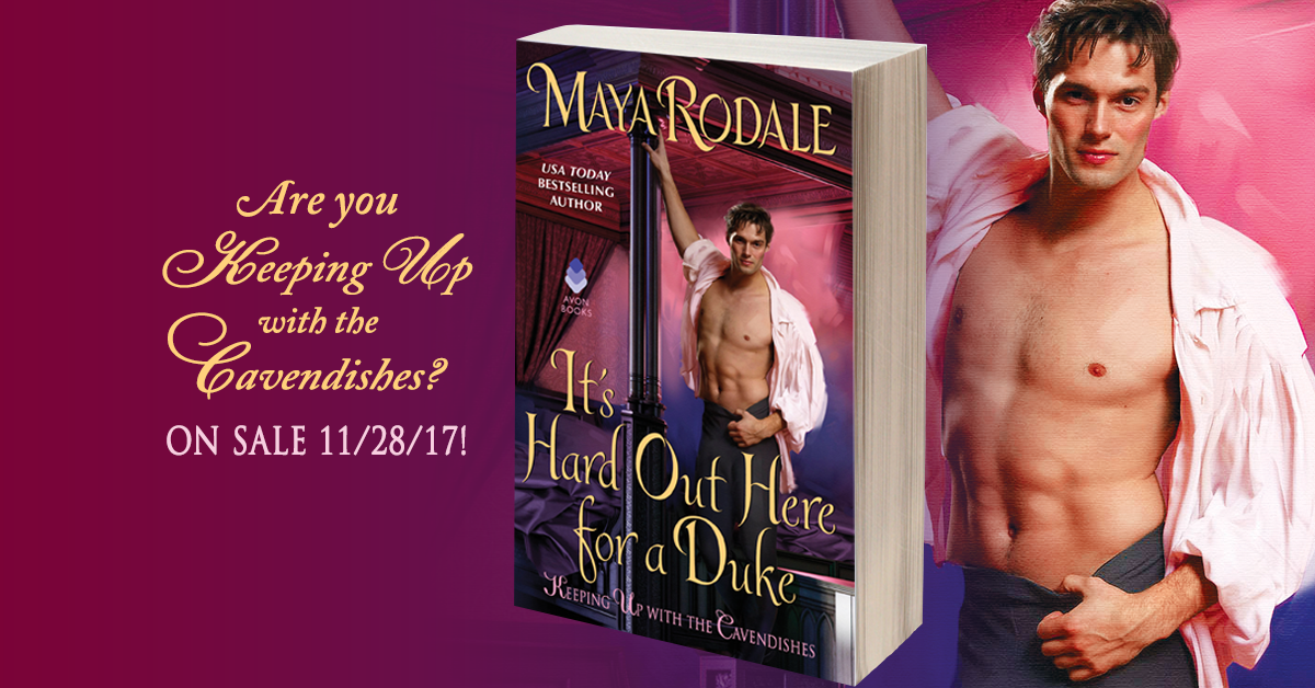 It's Hard Out Here For A Duke by Maya Rodale banner