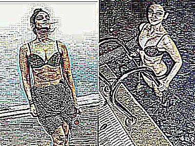 Femmes metisses nues