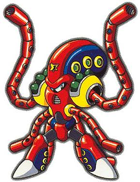 Capcom's official artwork for Launch Octopus.