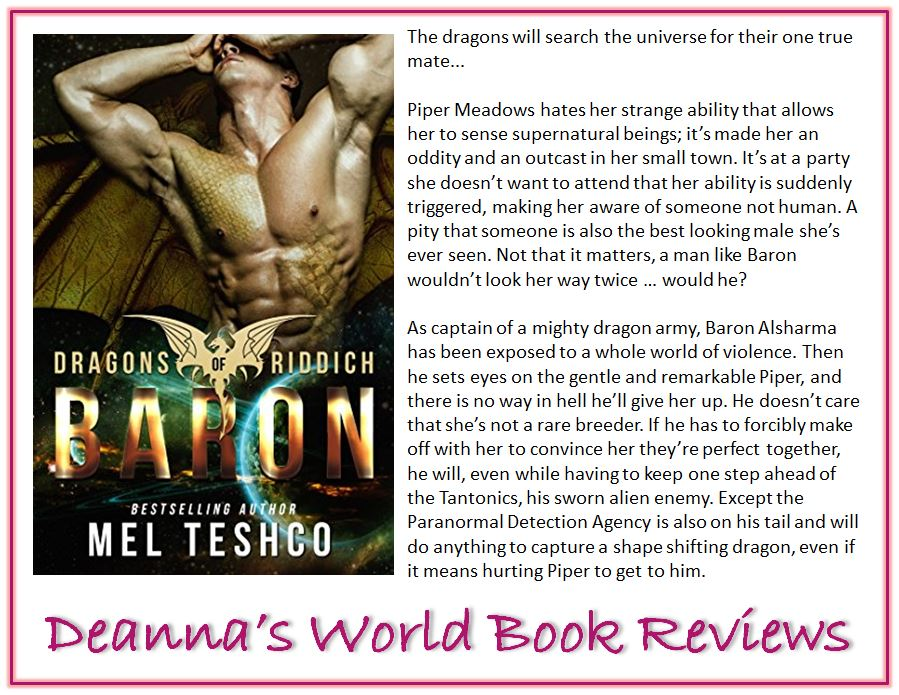 Baron by Mel Teshco blurb