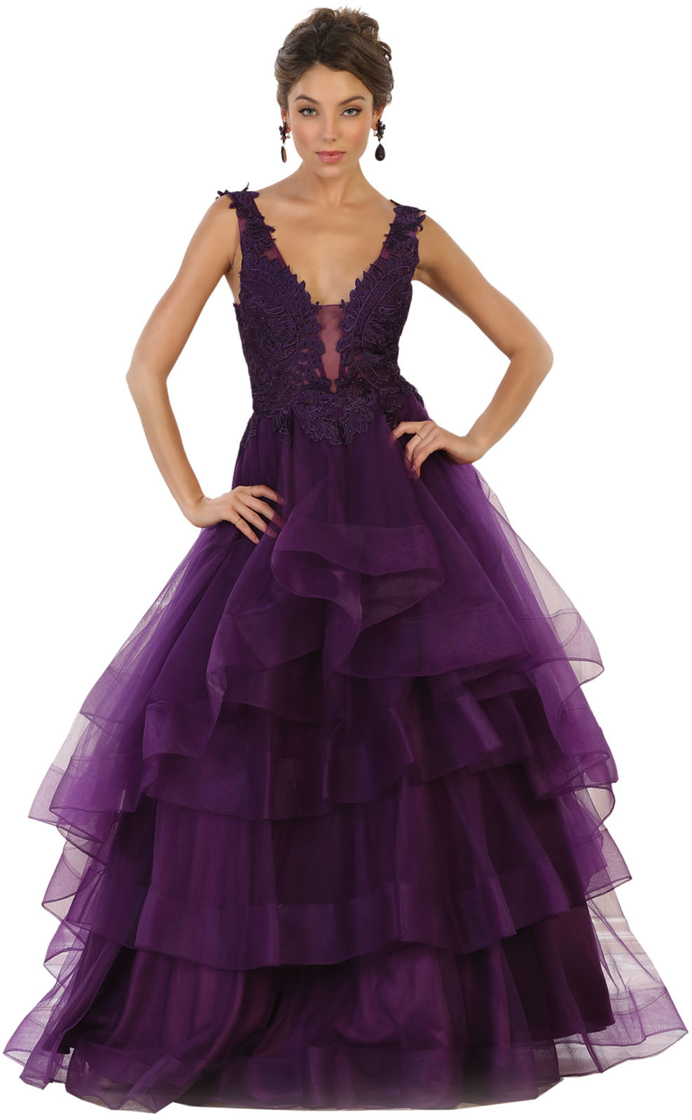 New formal evening gala red carpet designer prom dress - Designer red carpet dresses ...