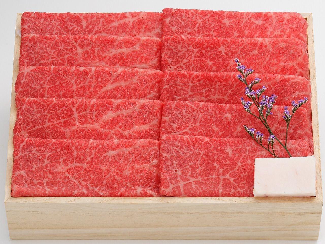 米沢牛 すき焼き 赤身
