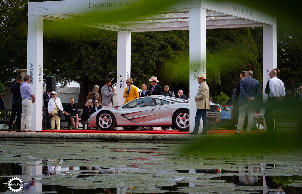 McLaren F1 GTR 25th Anniversary Concours of Elegance Display