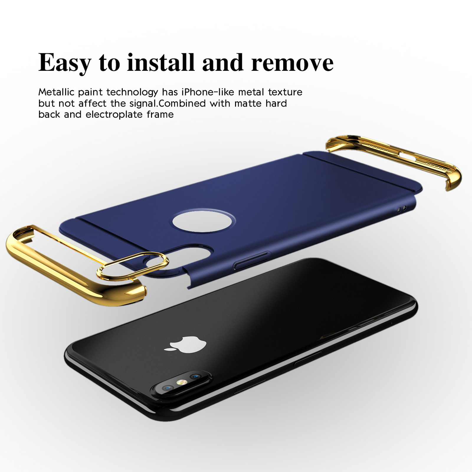 thumbnail 66 - Luxury Matte Case Tempered Glass Cover For Apple iPhone X XS XR Max 10 8 7 6s 6