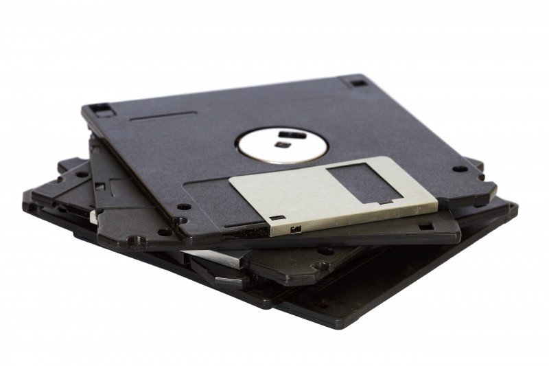 Floppy disks data