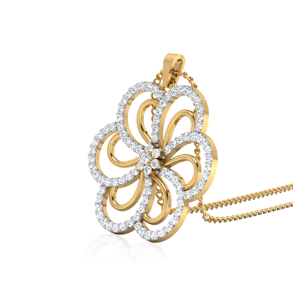 The Endara Diamond Pendant