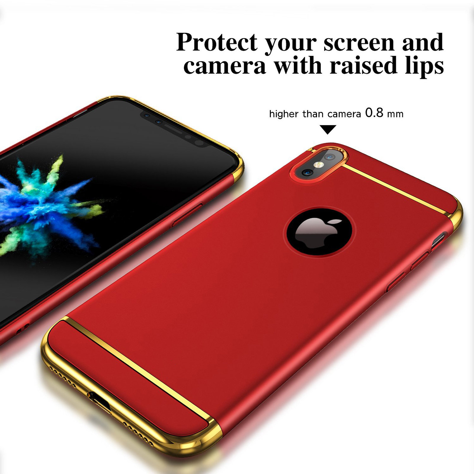 thumbnail 19 - Luxury Matte Case Tempered Glass Cover For Apple iPhone X XS XR Max 10 8 7 6s 6