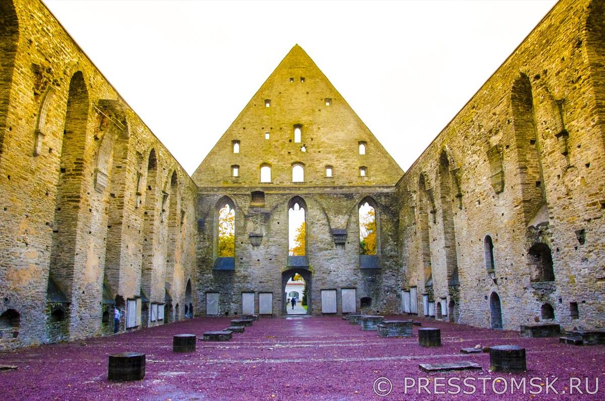 Руины монастыря св.Бригитты