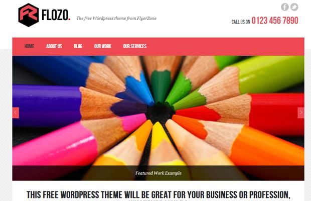 flozo - free wordpress theme