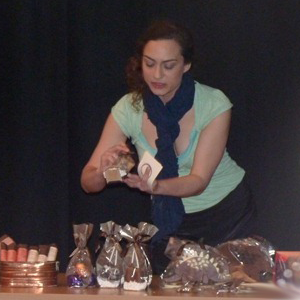 Hire Okie Coco for a chocolate tasting talk or demonstration or a chocolate making workshop