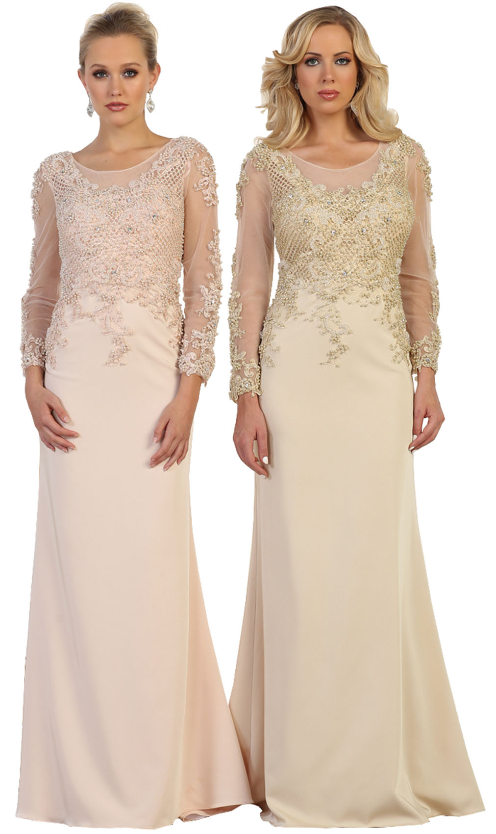 71d7203f61f Designer LONG SLEEVE DESIGNER MOTHER OF THE BRIDE EVENING SPECIAL OCCASION  FORMAL CHURCH CLASSY PLUS SIZE