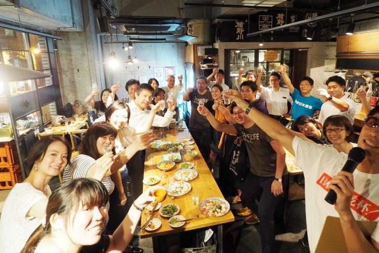 東京日本酒部の日本酒の日