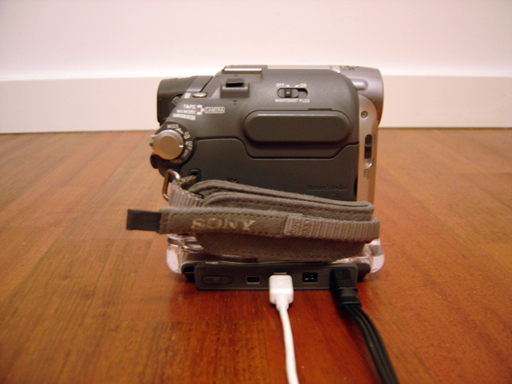 Camcorder connection