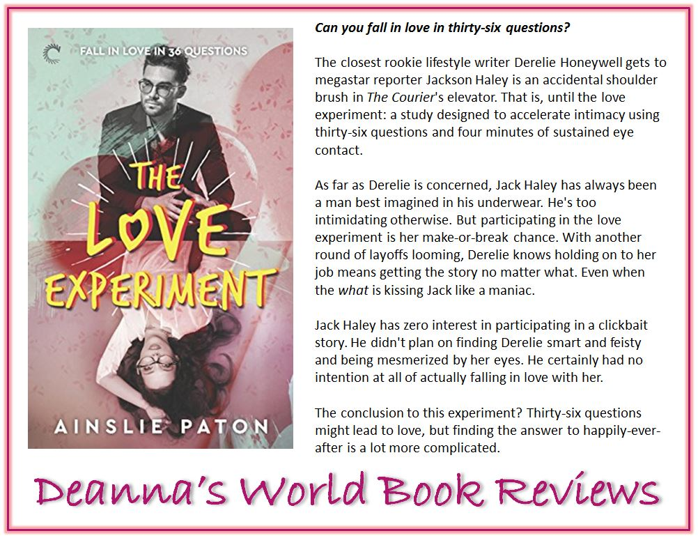 The Love Experiment by Ainslie Paton blurb