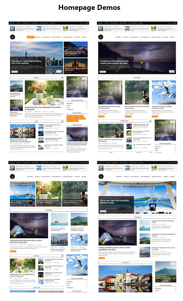 Vaga - WordPress Magazine and Blog Theme - 1