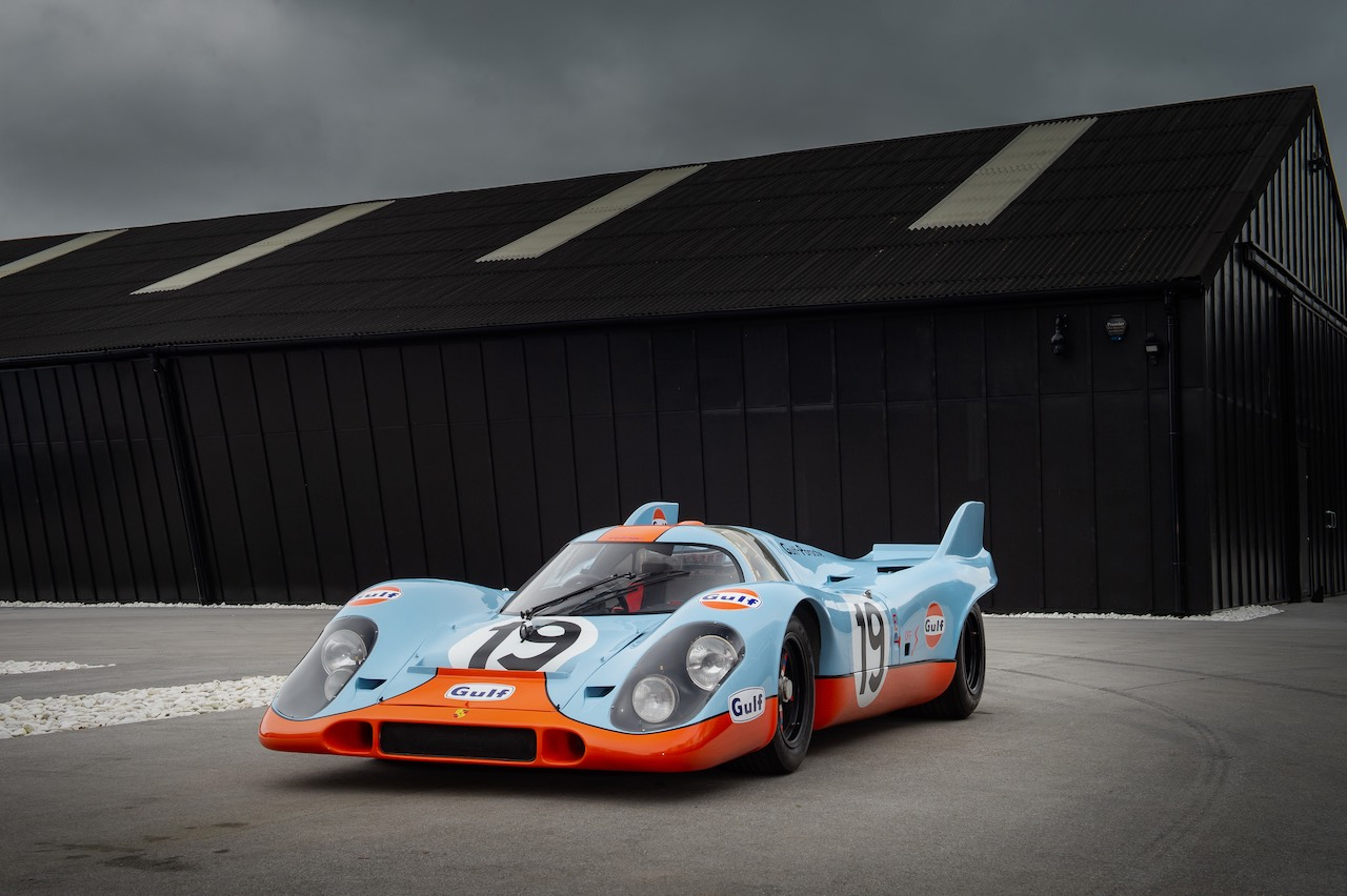 Concours of Elegance to celebrate iconic Gulf and Martini liveries