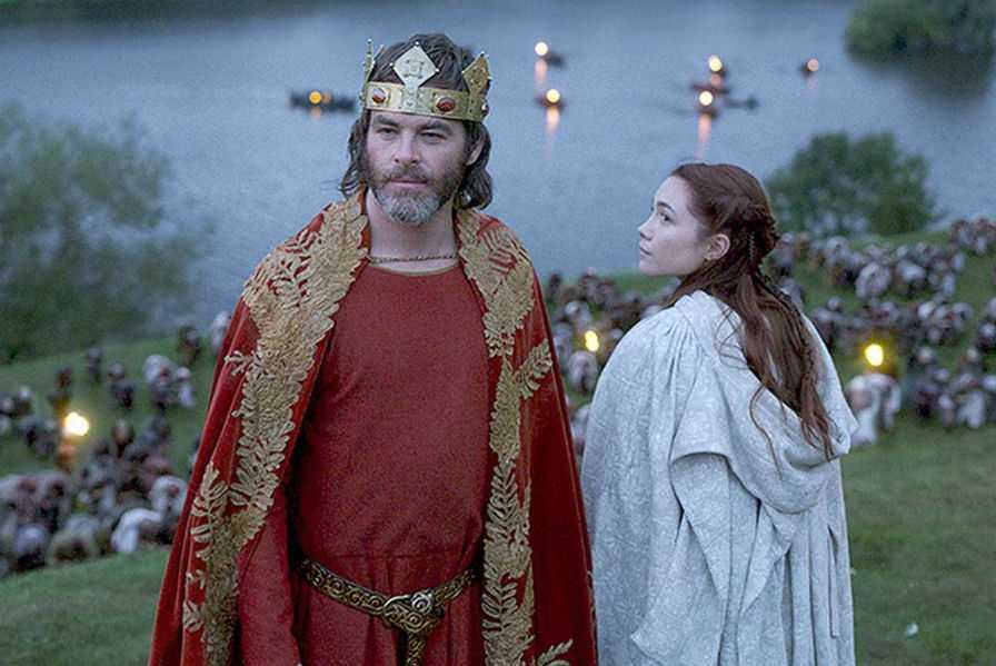 Кадр из фильма «Король вне закона». Роберт Брюс и Элизабет де Бург