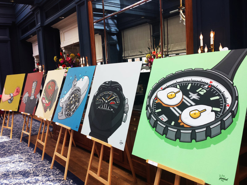 Expo Watches and Pencils