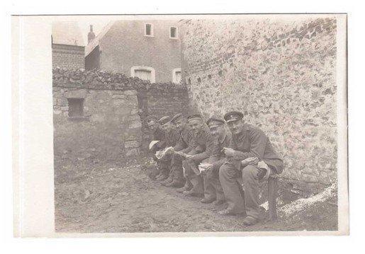 Haspres - Soldats Allemands en 1918