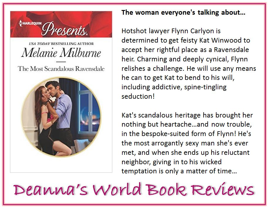 The Most Scandalous Ravensdale by Melanie Milburne blurb