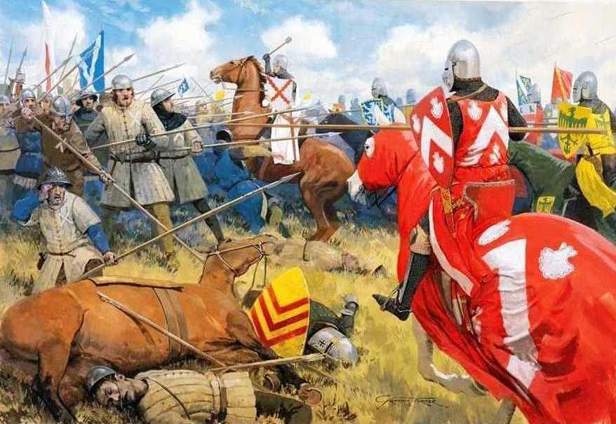 Mark Churms. The Battle of Bannockburn